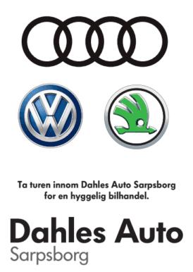 Dahles Auto Sarpsborg - annonse