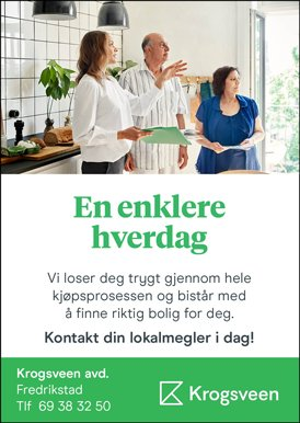 Krogsveen - En enklere hverdag - Kontakt din lokalmegler i dag!