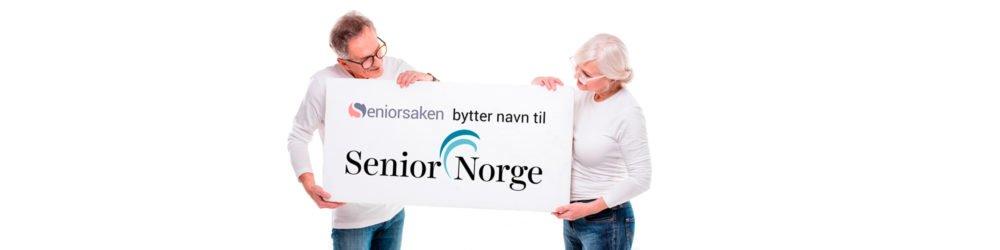 Seniorsaken skifter navn til Senior Norge!