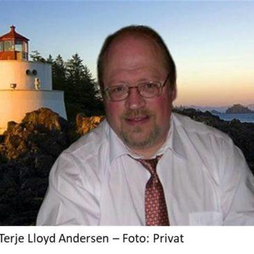 Aktuell profil – Terje Lloyd Andersen ( 66 )