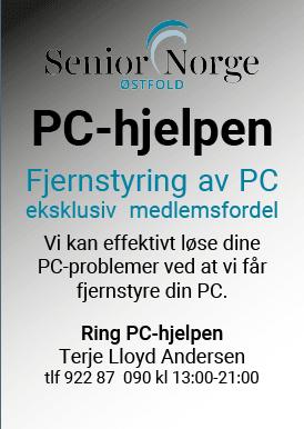 PC-hjelpen fjernstyring annonse