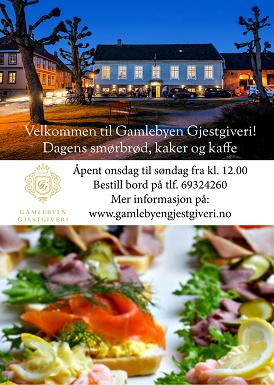 Gamlebyen Gjestgiveri annonse 2019