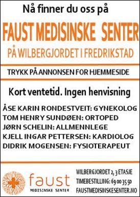 Faust medisinske senter - Lang erfaring kort ventetid